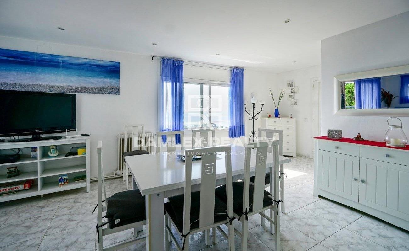 Villa with sea views near the beach of Santa Cristina, Blanes
