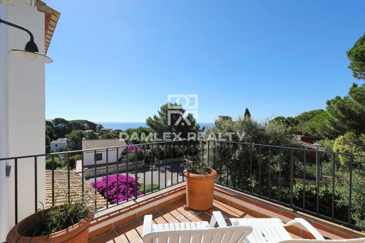 House with fantastic sea views for sale in El Golfet, Calella de Palafrugell near the beach