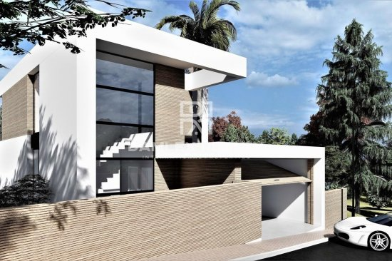 Modern design villa 1 km from the beach