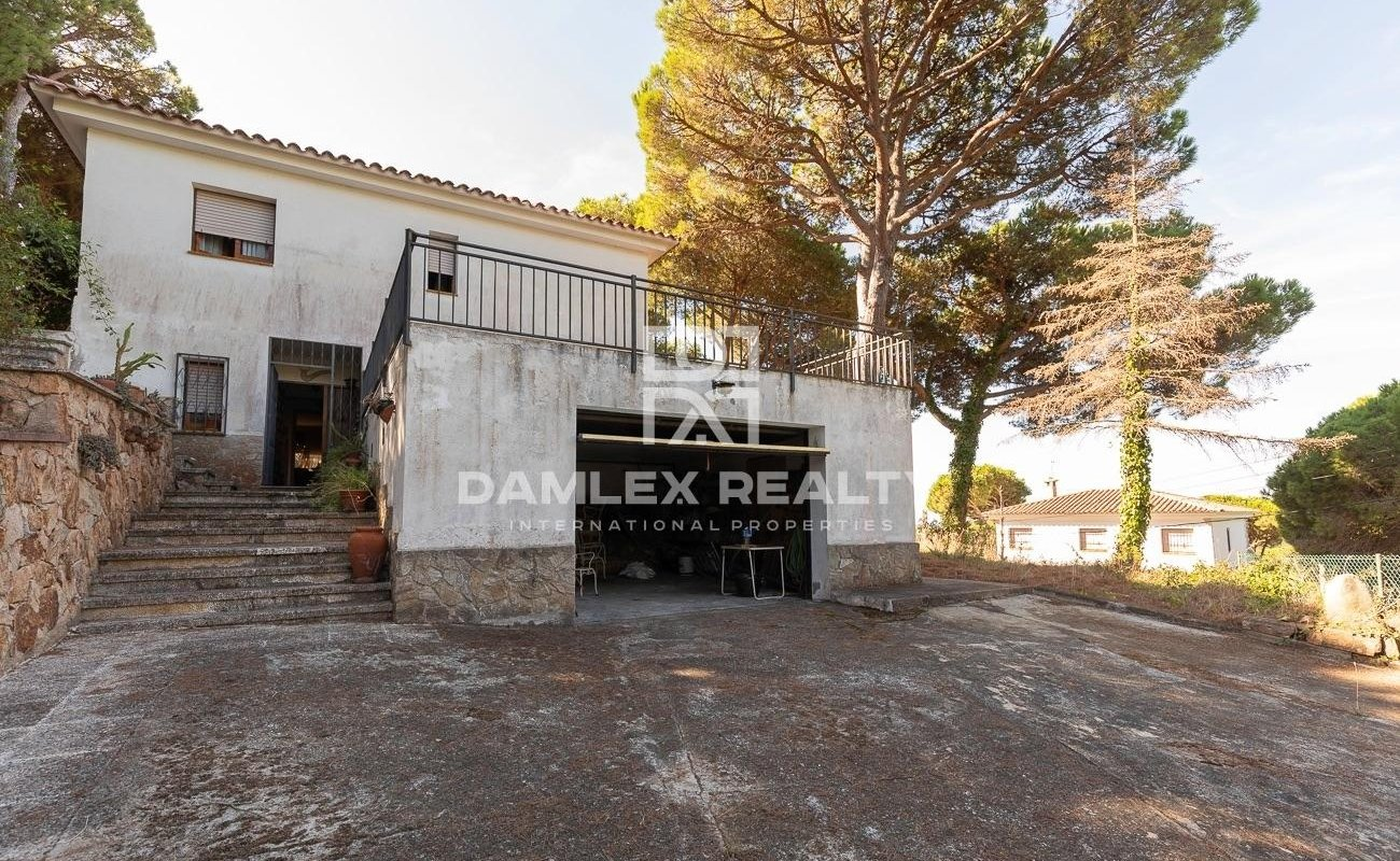 House with sea views in Lloret de Mar, Font de Sant LLorenç