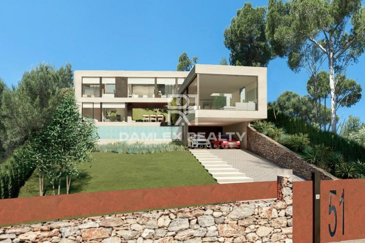 Villa with stunning sea views in Platja d`Aro