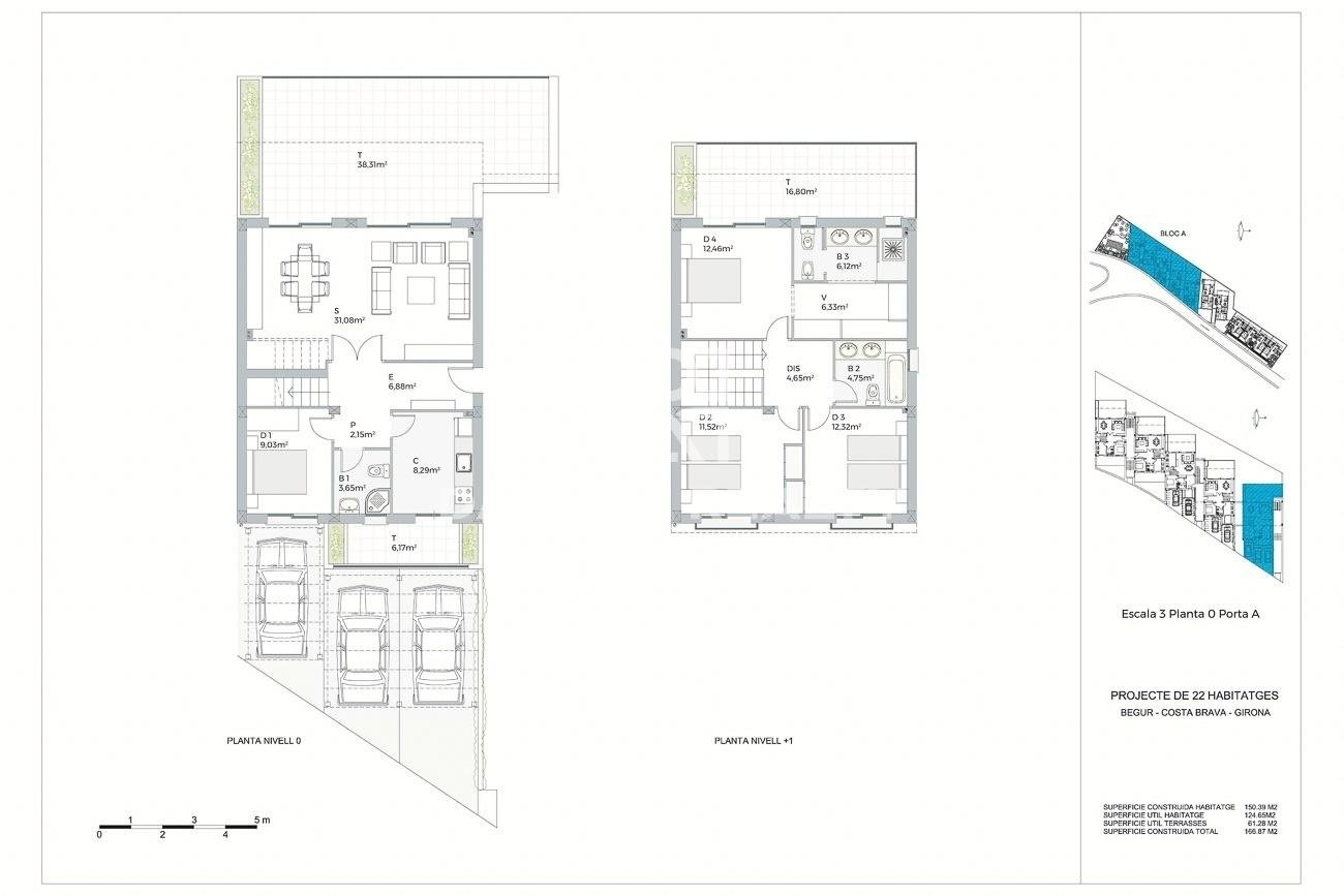 New project of 22 exclusive apartments near Pals beach, Costa Brava