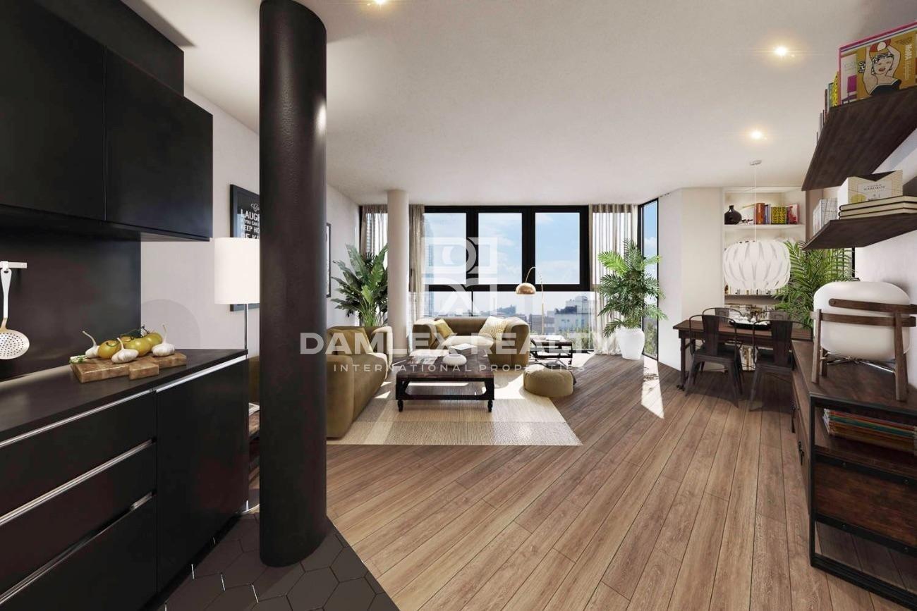 New modern apartments near the beach in Barcelona