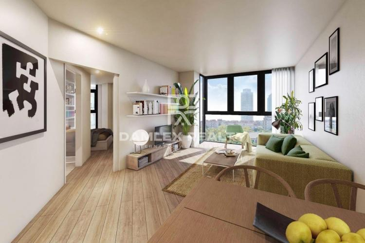 New apartments in the Vila Olimpica area of Barcelona
