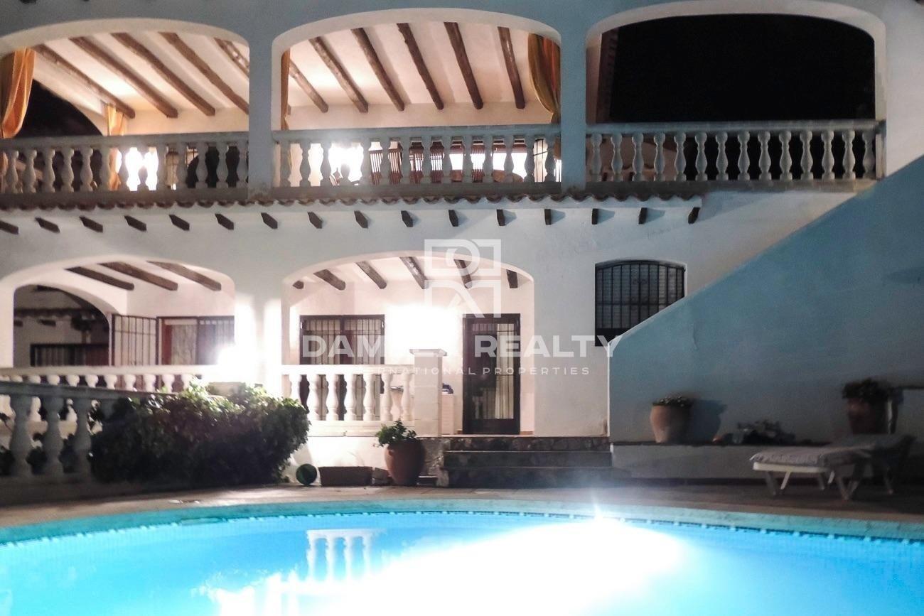 Villa with panoramic sea views in Lloret de Mar