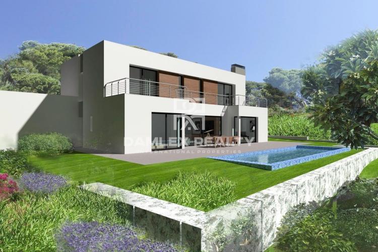Villa under construction, in a prestigious area of Platja d`Aro
