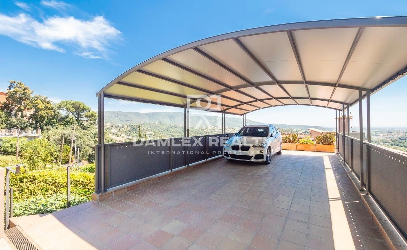 Nice house in Calonge with panoramic sea view