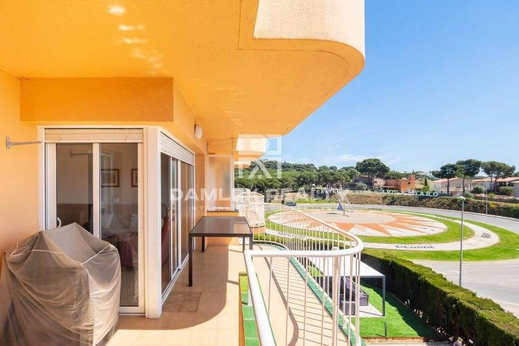 Apartment with sea views in a quiet area of S`Agaró