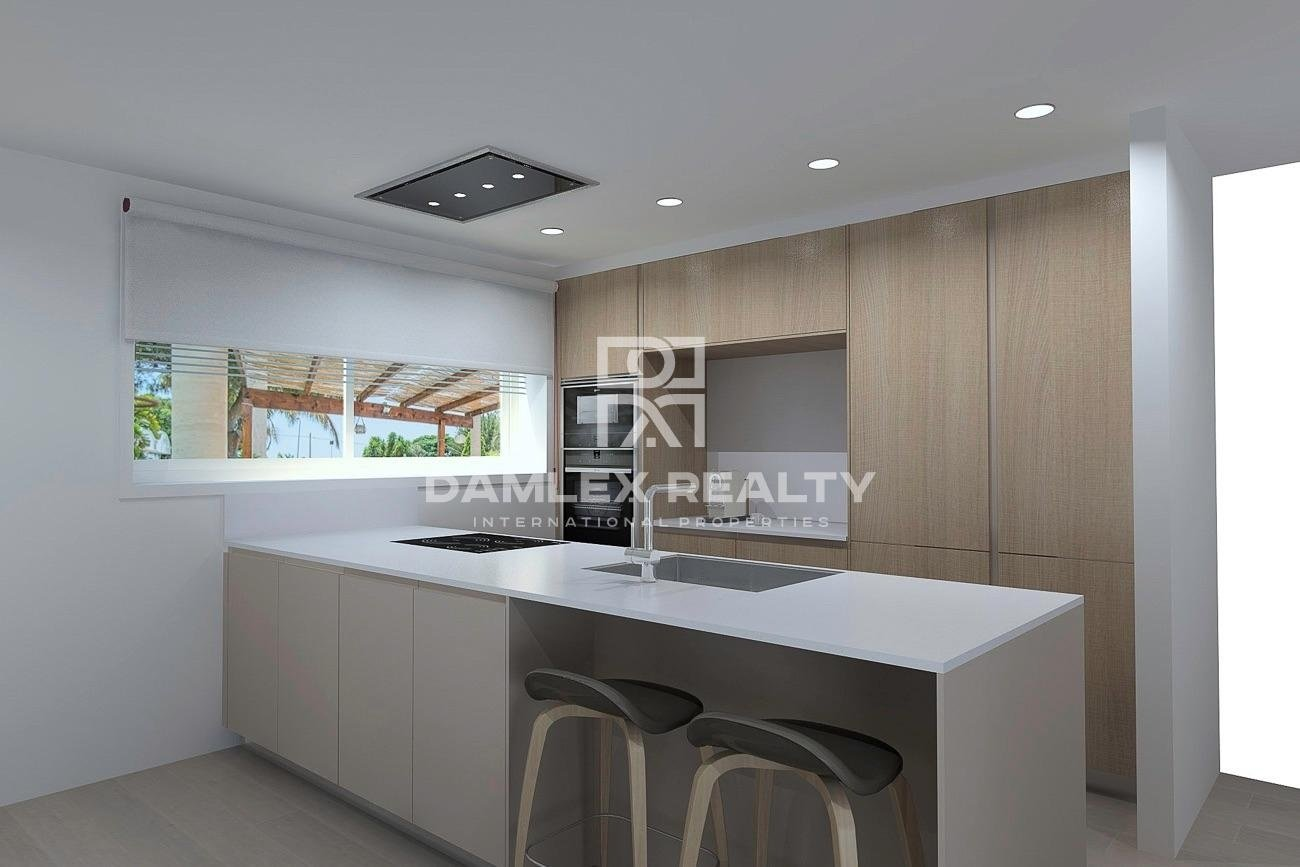 New promotion of single-family housing located in the els Pinars urbanization of Lloret de Mar