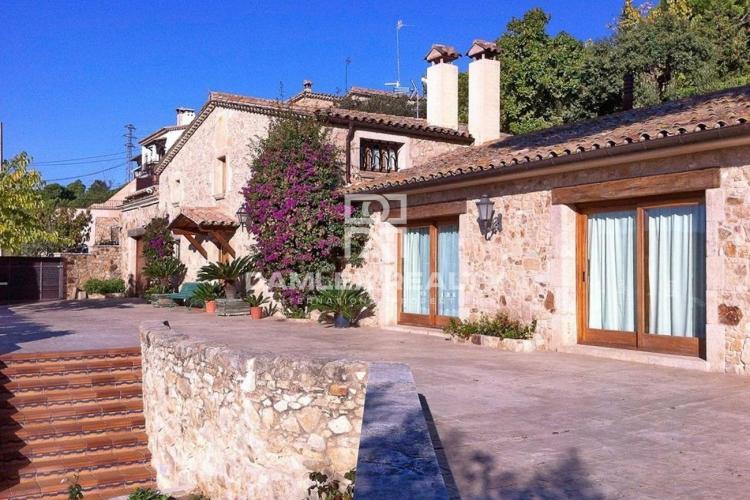 Villa in a quiet urbanization near the center of Platja d`Aro